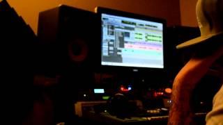 Sir Pepe in the studio