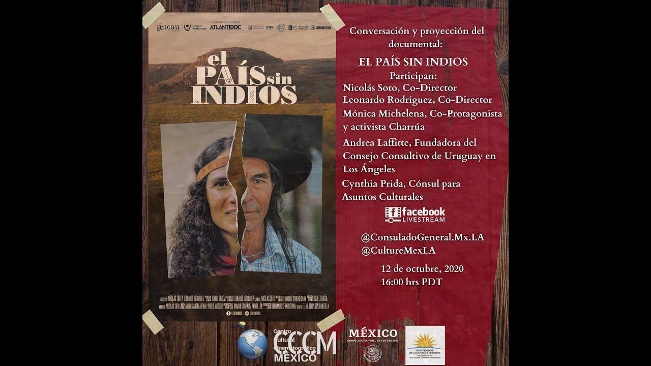 Conversación Codirectores del Documental El Pais Sin Indios