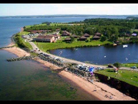 Pictou Lodge day 1 in the books Nova.Scotia Zipline!