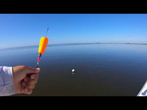 Inshore Fishing Muddy Water With Popping Cork