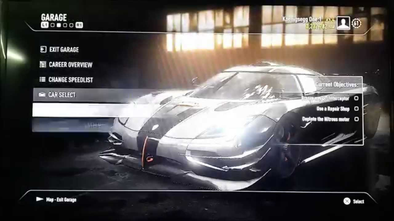 PS3 Best Save Game Need For Speed Rivals Proof 100