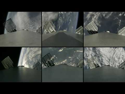 Six SpaceX Launches Synchronized To The Landing