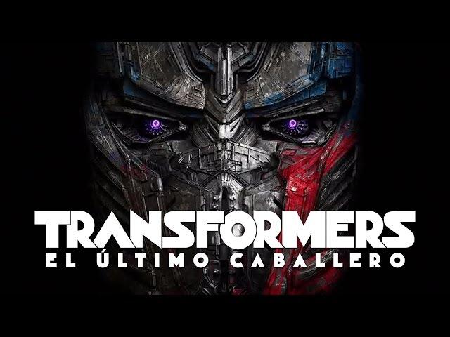 Estrenan el primer tráiler de Transformers: El último caballero