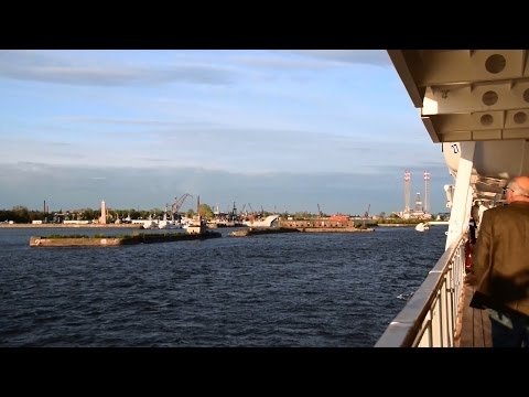 Kronshtadt St Petersburg Russia View from Cruise Ship