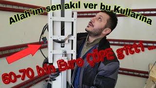 ALMANLAR ÇÖPE PARA ATIYORLAR..