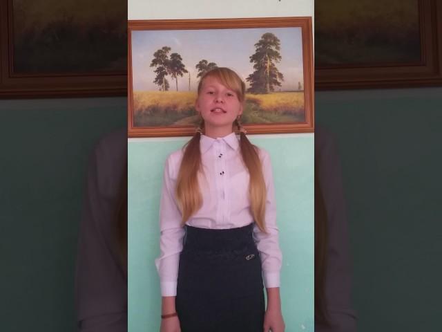 Изображение предпросмотра прочтения – АделяКамалетдинова читает произведение «Низкий дом с голубыми ставнями…» С.А.Есенина