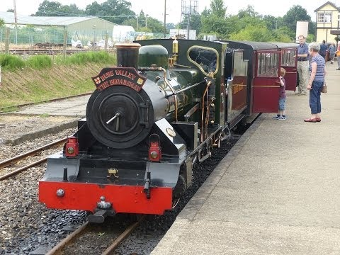 Bure Valley Railway (Red Timetable) - 23/07/2013