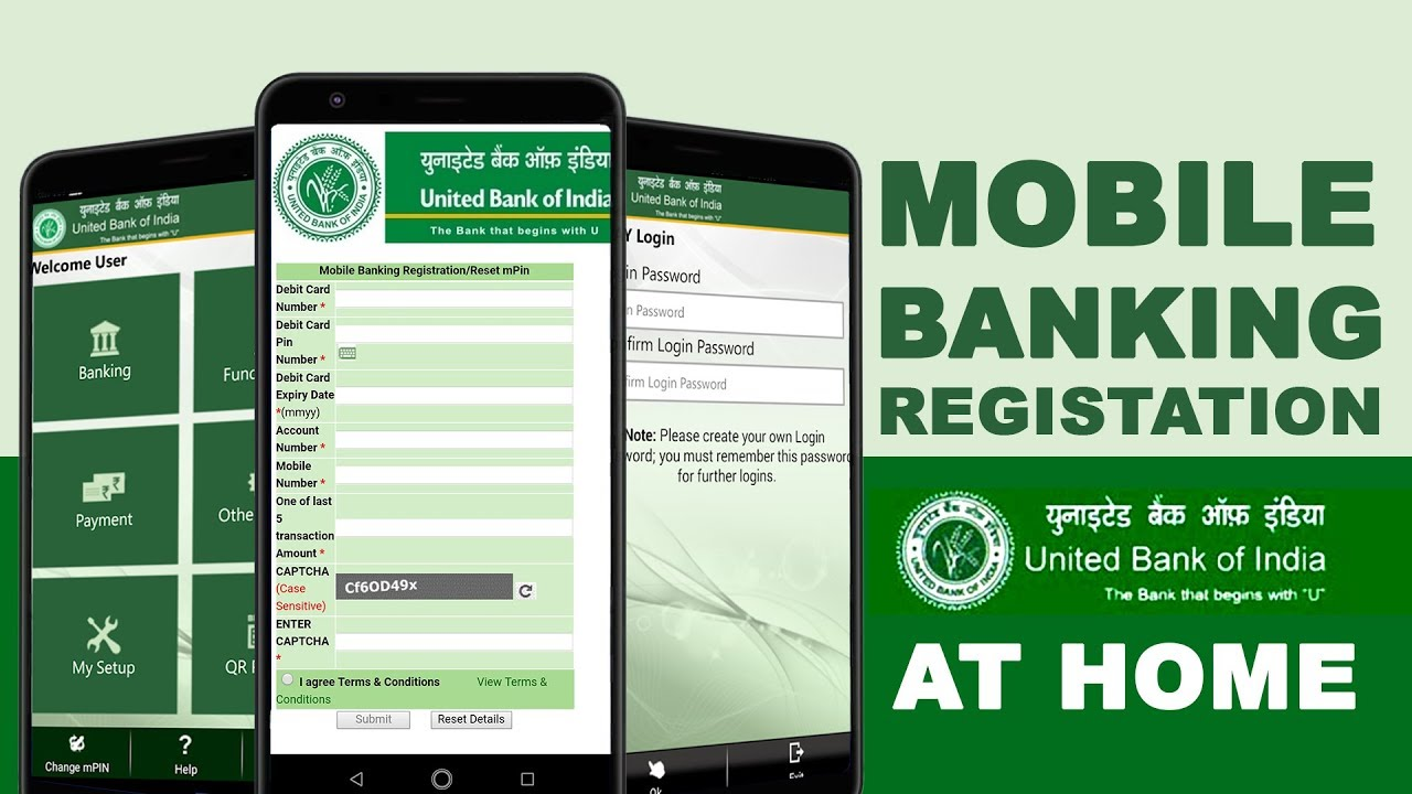 online banking united bank of india