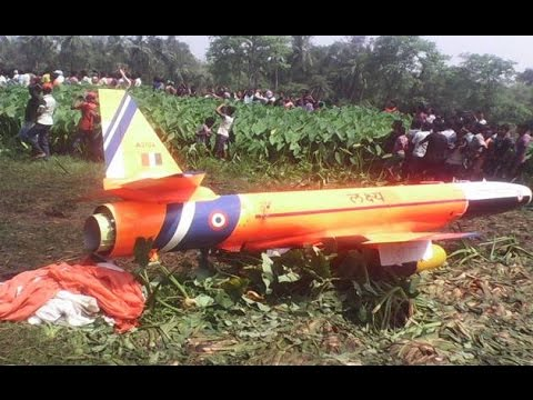 Lakshya UAV of Indian Air Force crash lands in Odisha