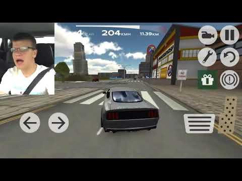 Singing Man Car Crash in: Extreme Car Simulator