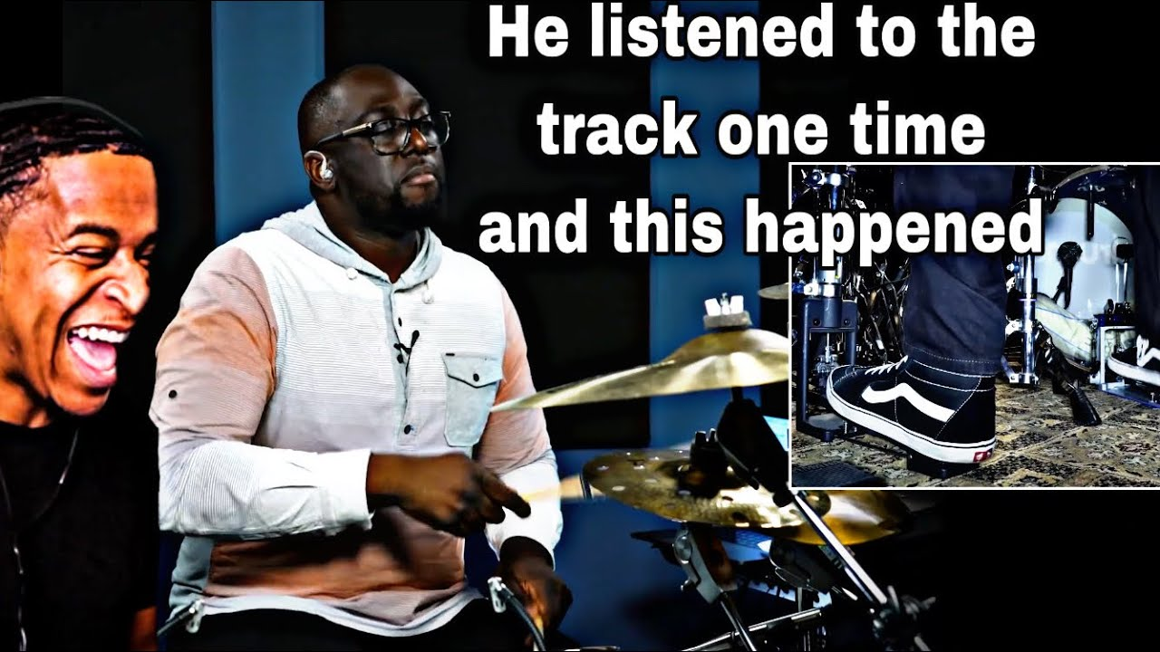 Drummer Reaction - Larnell Lewis Hears A Song Once And Plays It Perfectly