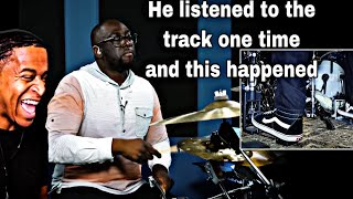 Drummer Reaction  Larnell Lewis Hears A Song Once And Plays It Perfectly