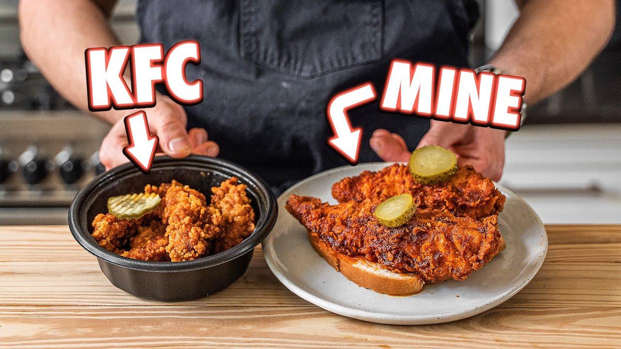 KFC Hot Chicken Tenders But Better