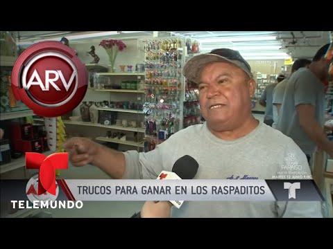Trucos Para Ganar Los Raspaditos   Al Rojo Vivo   Telemundo