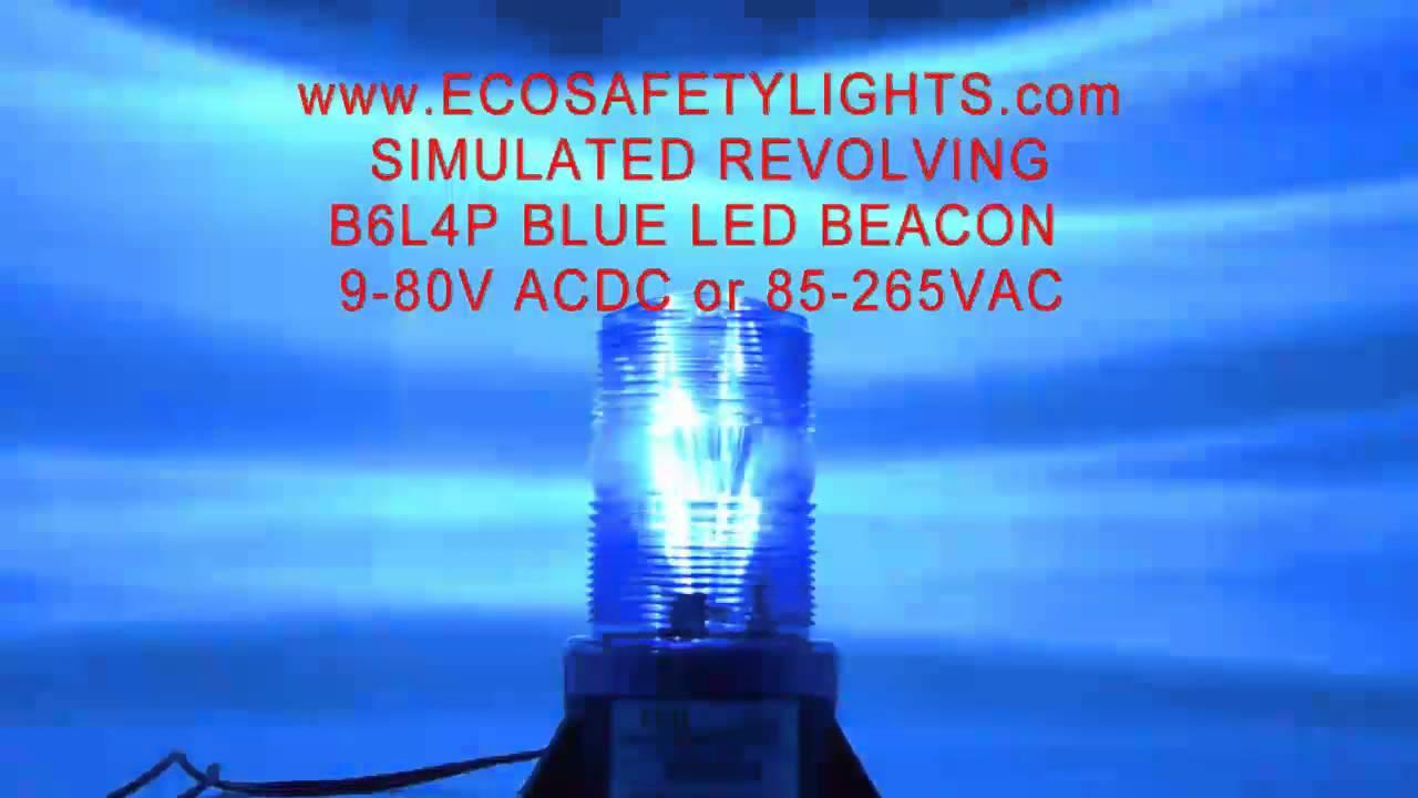 B4L4P GREEN 12-72V DC 12W HIGH POWER LED FORKLIFT EMERGENCY WARNING LIGHT BEACON STROBE EFFECT 12V 24V 36V 48V 72V
