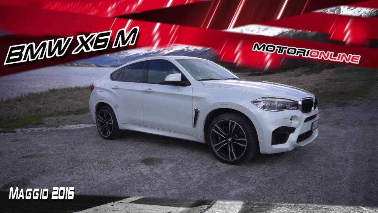 Bmw X6m F86 Test Drive And Engine Sound Youtube
