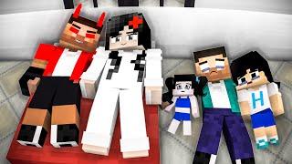 Heeko Lost His Family - Part5  (Very Sad Story) - Monster school Minecraft Animation