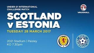 Scotland U21 vs Estonia U21 full match