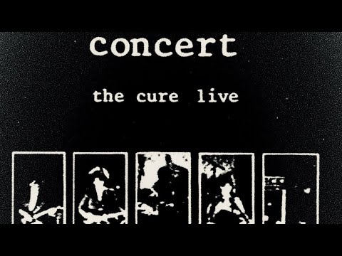 The Cure - A Forest 🌲 (LYRICS ON SCREEN) 📺 [Concert: The Cure Live 1984]