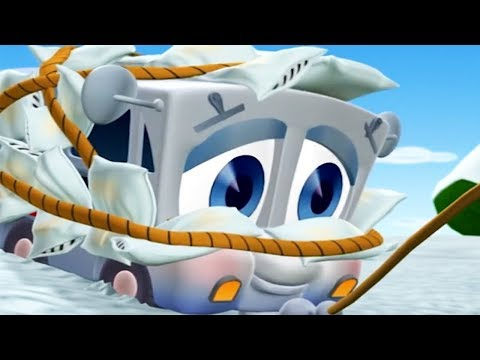 Finley The Fire Engine |  Miguel on Ice | Full Episode | Cartoons For Kids 🚒