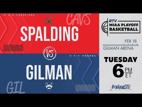 Gilman Vs Spalding (2020 MIAA Basketball Quarterfinals)