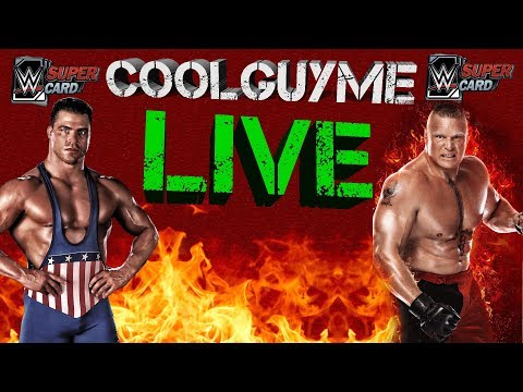 RTG IS A GRIND !!!!!  S4 WWE Supercard (Live Stream)
