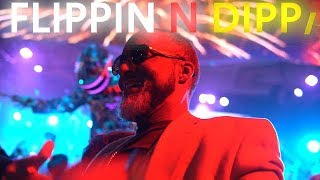 FLIPPIN N DIPPIN 9 LINES TRIPLE STARS 45 A SPIN BIG WIN 2020 NEW YEARS EVE CELEBRATION