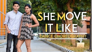 She Move It Like - Badshah Song | Couple Dance Choreography | Dance Cover | CRIMINALZ CREW