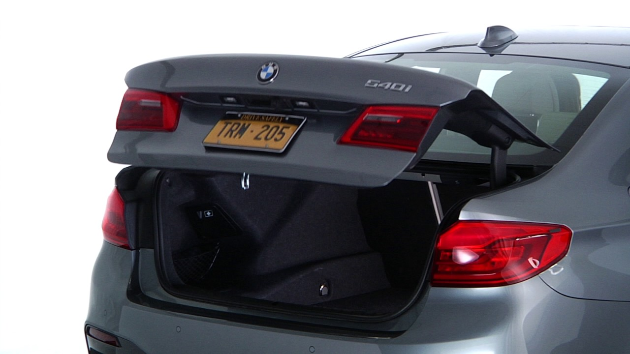 open and close the trunk from the inside bmw genius how to [ 1280 x 720 Pixel ]