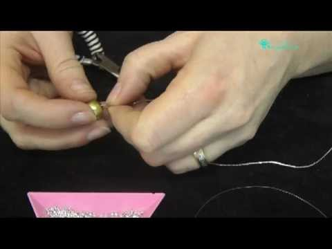 Bead Time Tutorial Crimp Chain And Monofilament