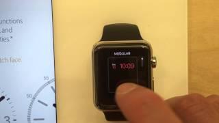 Apple Watch face customization + sign