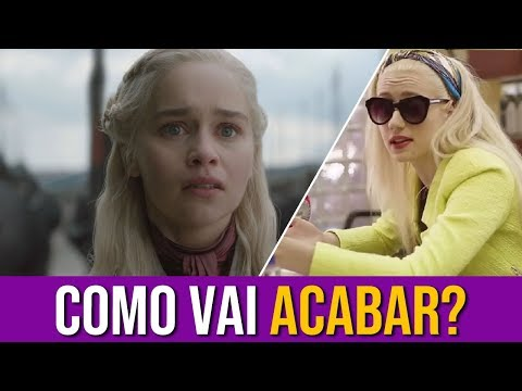 Como Vai Acabar Game Of Thrones? (Com Spoiler)