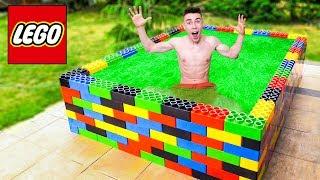 BASEN LEGO wypełniony GLUTEM!