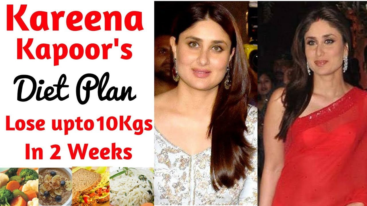 kareena kapoor's diet plan for weight loss in हिंदी, how to