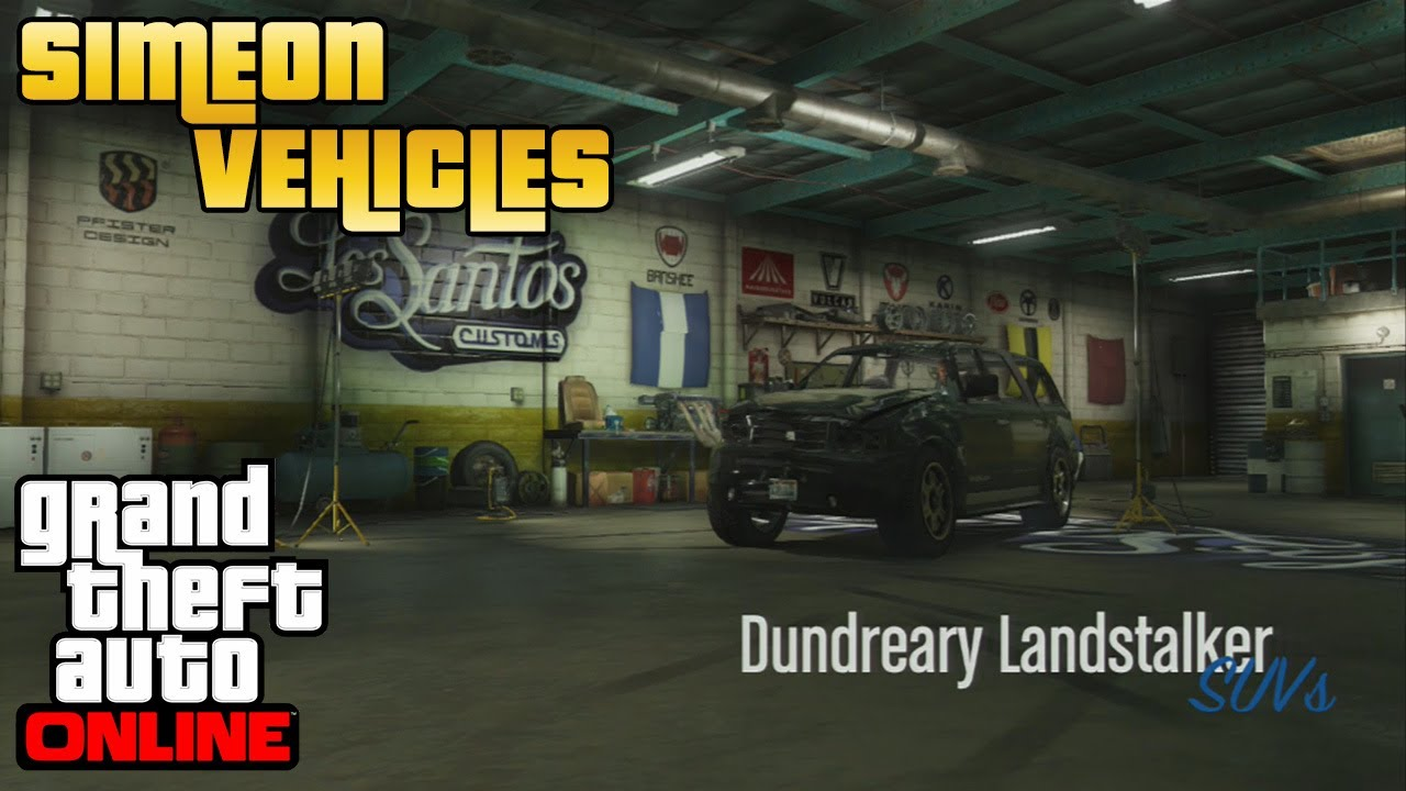 GTA V Online - Simeon Vehicles - Dundreary Landstalker ...