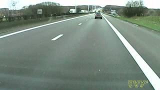Wegpiraat BMW rijder