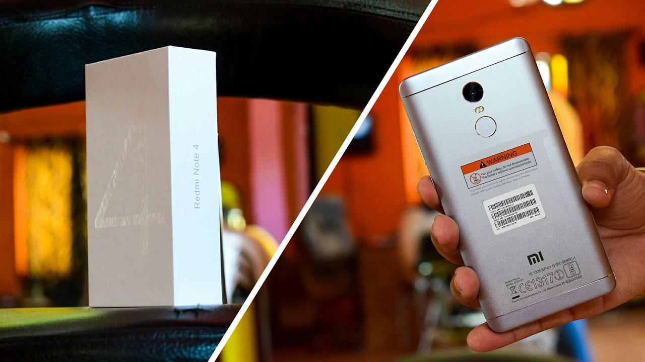 Pubg Hd Redmi Note 4: Redmi Note 4 Unboxing (Indian Unit) 1080p HD
