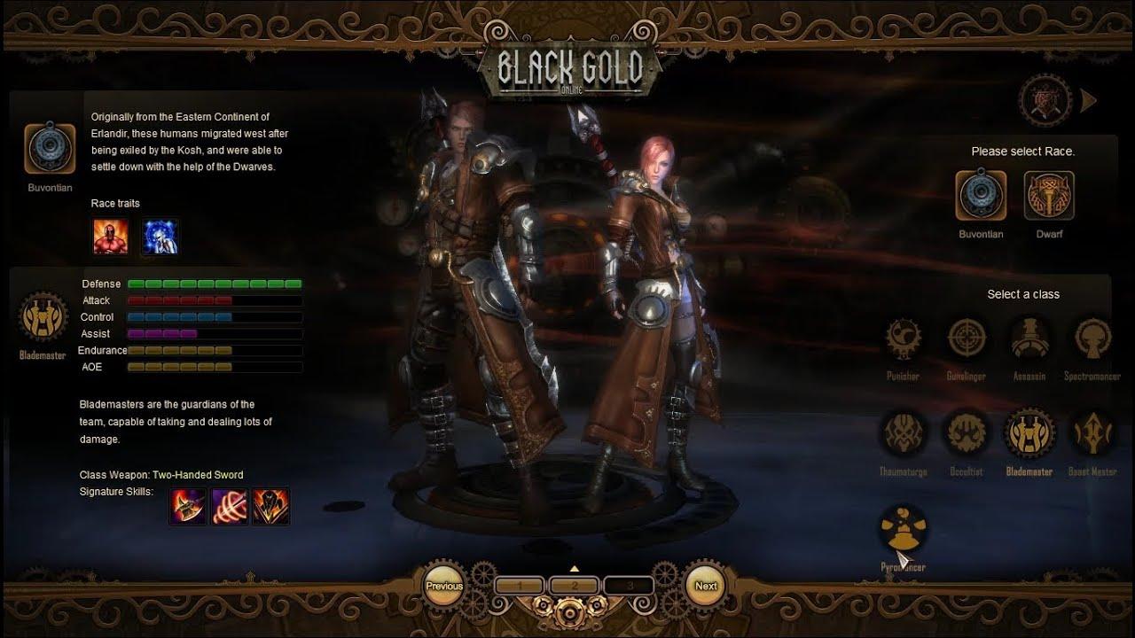 Blackgold Online