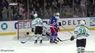 Rangers vs Stars - 1/5/16 - Keith Yandle goal