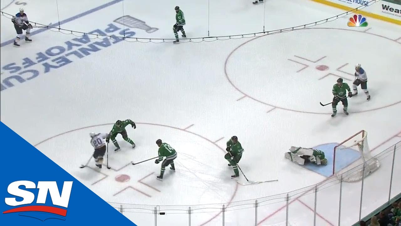 Blues Drop Stars Goalie Ben Bishop With Puck To The Collarbone