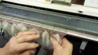 Thrumming On The Knitting Machine By Carole Wurst