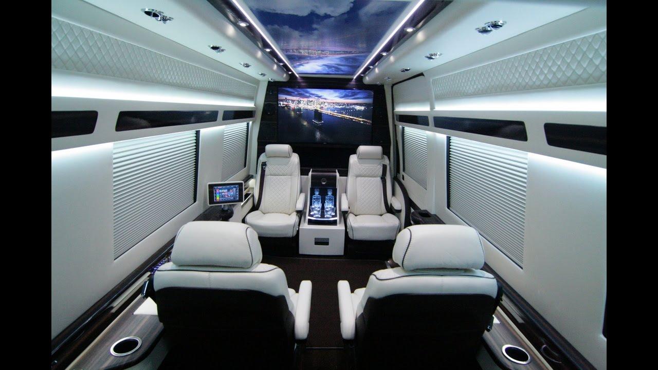 Custom Mercedes Sprinter >> Hq Limited Edition Mercedes Benz Sprinter Custom Conversion Van