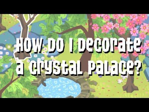 Decorating a Crystal Palace - Animal Jam Speed Den - YouTube