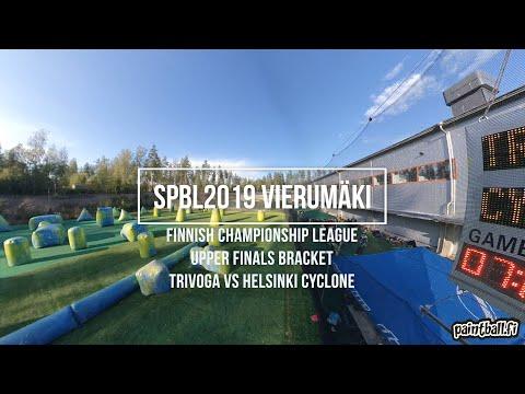 Trivoga vs Cyclone - SPBL2019 Vierumäki