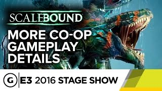 Scalebound Was Built for Co-op Multiplayer - E3 2016 Stage Show