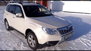 Тест - Обзор Subaru Forester III 2.0