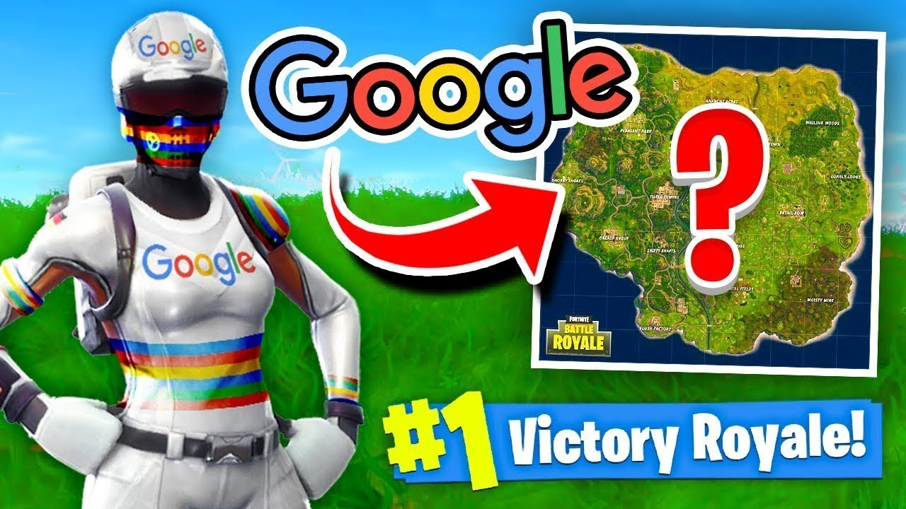 using google to decided where to drop in fortnite - where am i going to drop in fortnite