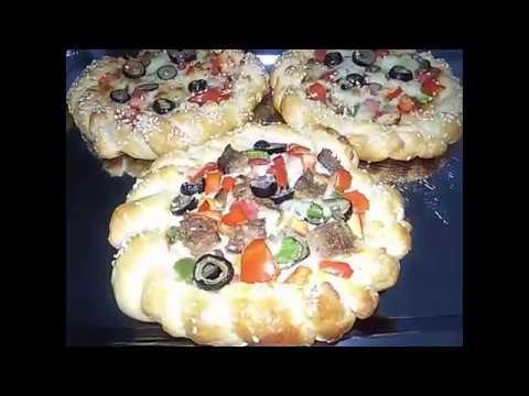 صورة  طريقة عمل البيتزا طريقه عمل بيتزا مضفره مطبخ ساسى طريقة عمل البيتزا من يوتيوب