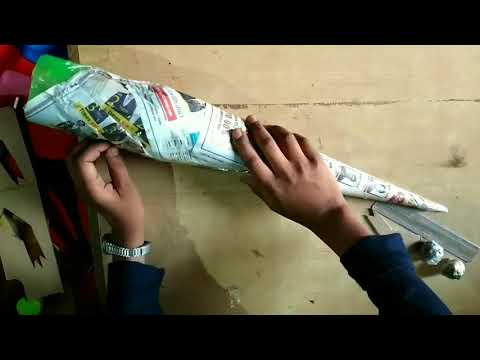 how to make crocodile using bottel+waste material