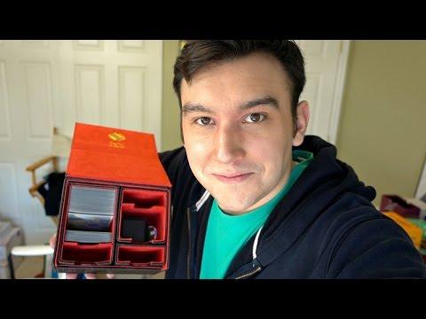 MY NEW DECK BOX!!
